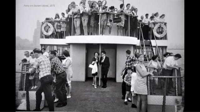 Ferry en Staten Island, 1971