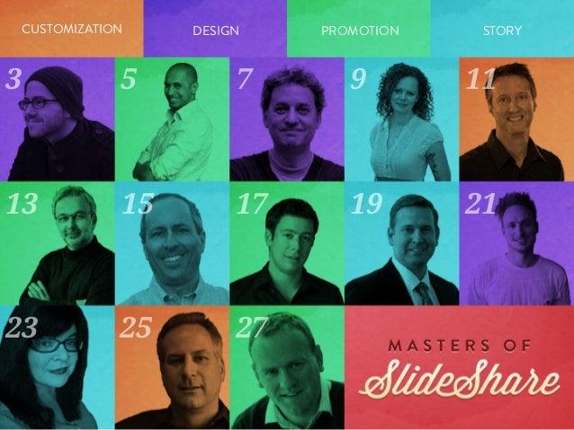 Masters of SlideShare Slide 2