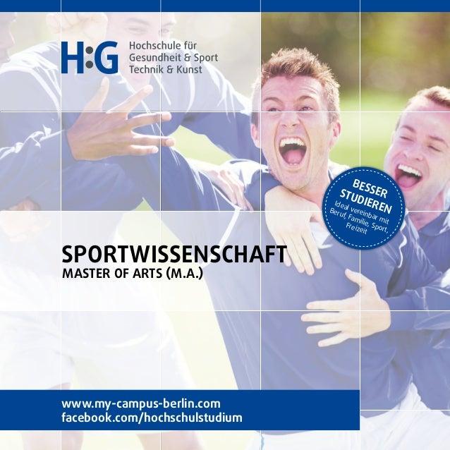 Sportwissenschaft Studieren