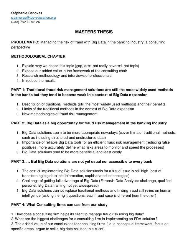 masters dissertation methodology example