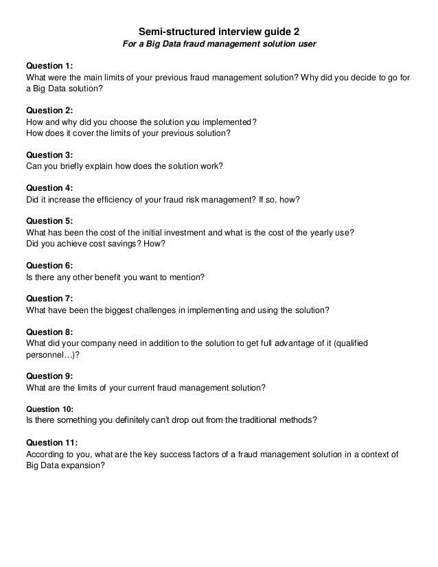 masters dissertation interviews