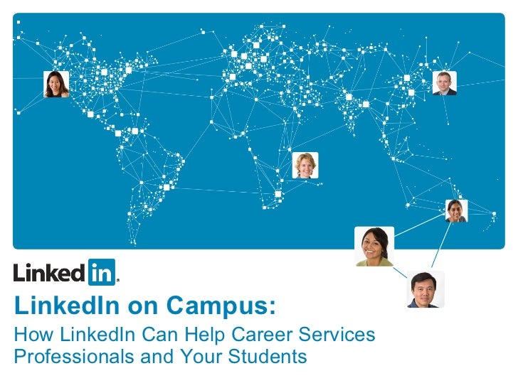 master ppt linkedin on campus