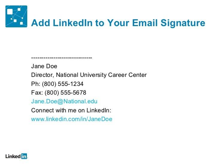 Master ppt) LinkedIn on Campus