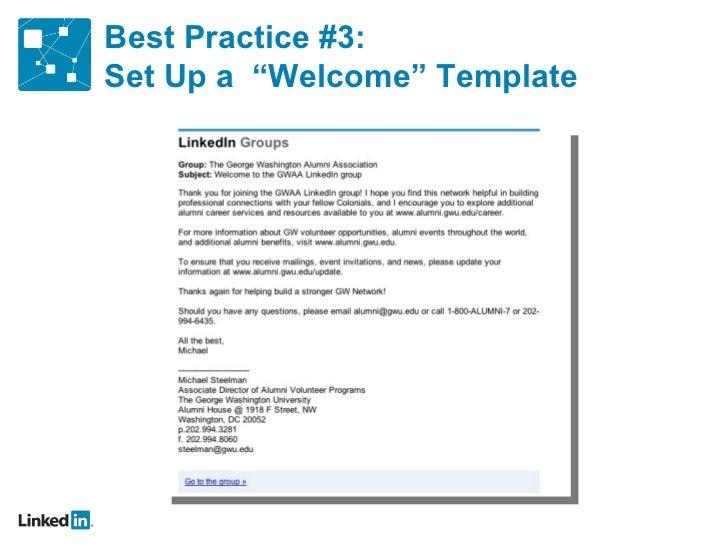 master ppt) linkedin on campus, Gwu Presentation Template, Presentation templates