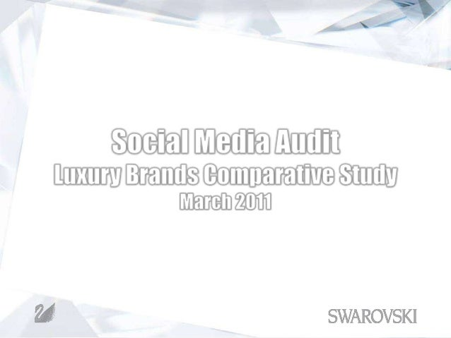 Disclaimer: It should be noted that social media audits and studies are conducted with custom  parameters defined by the c...