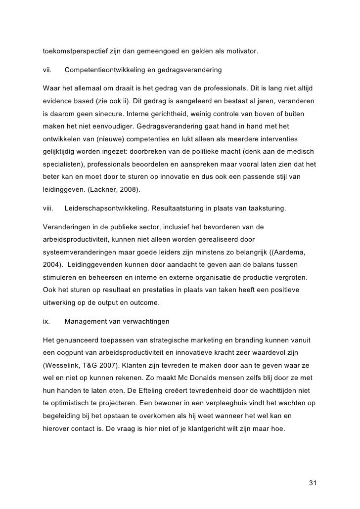 Voorwoord master thesis on risk