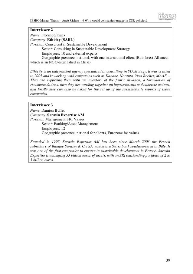 Dissertation corporate strategy