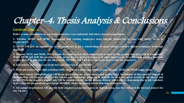 Master thesis service management