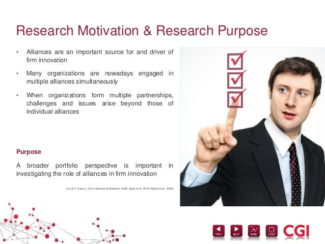 motivation of study in thesis