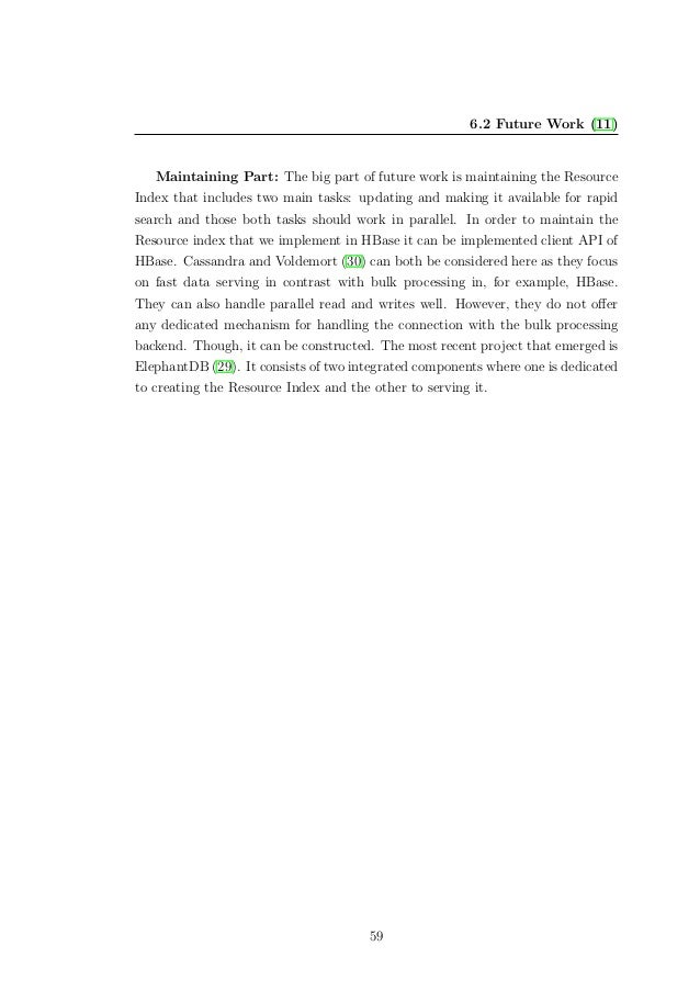 Master thesis sql