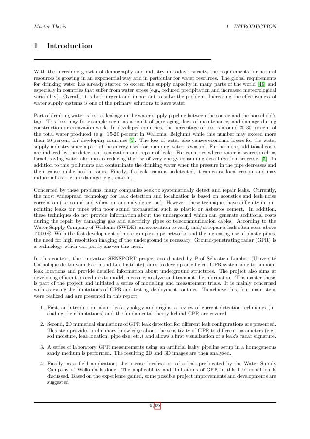 radar master thesis sample