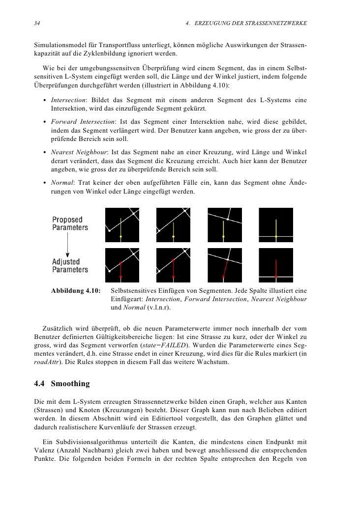34                                                   4. ERZEUGUNG DER STRASSENNETZWERKE   Simulationsmodel für Transportfl...