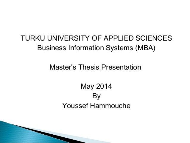 noragric master thesis presentation