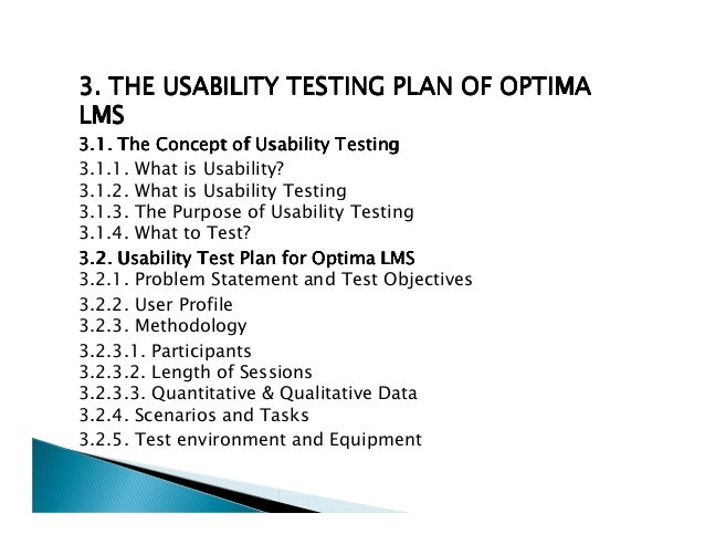 Usability Testing Phd Thesis