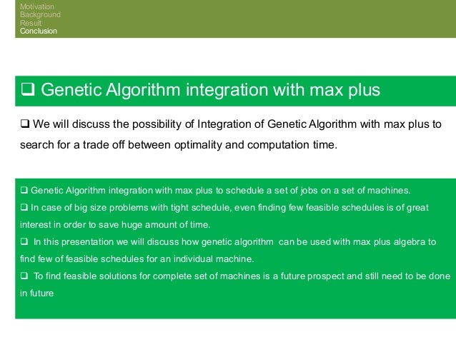 genetic algorithm job shop thesis Phd thesis tokyo institute of technology 9 federico della croce , roberto tadei , giuseppe volta, a genetic algorithm for the job shop problem, computers .