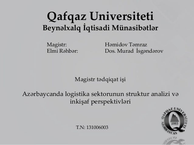 Master thesis university