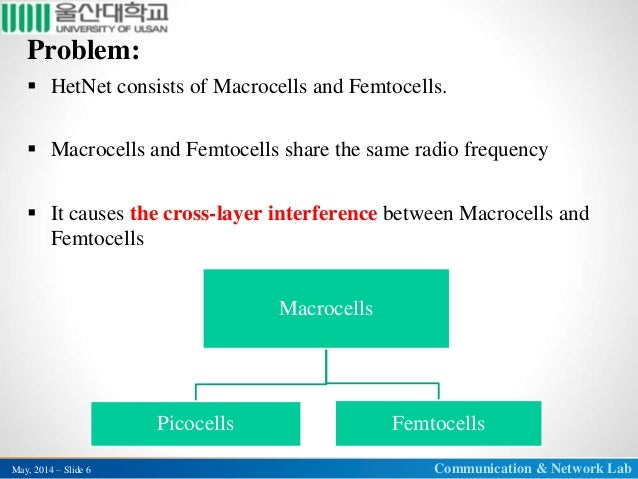 thesis on femtocell The interference mitigation in femtocell networks is the main aim of this  focus is on femtocell networks, the developed methods in this thesis.