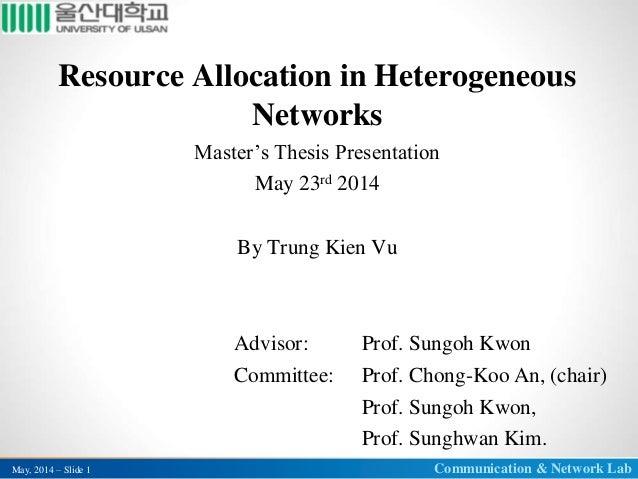 Dissertation proposal presentation ppt des