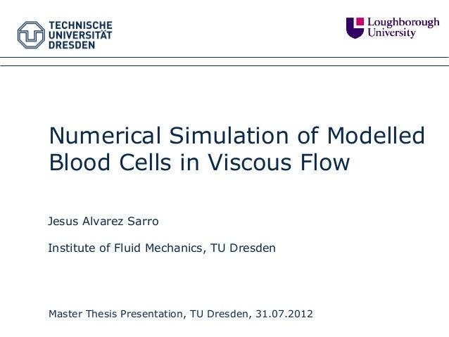 Master thesis simulation
