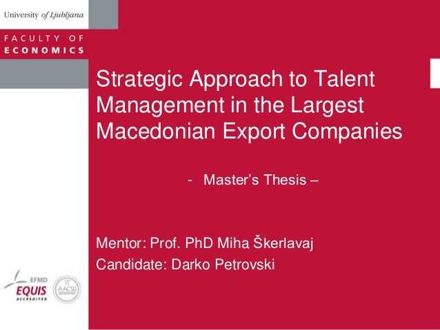 dissertation report on talent management Website that writes papers for you dissertation report on crm dissertation sur talent and the lowest prices institute of management studies thesis report on.