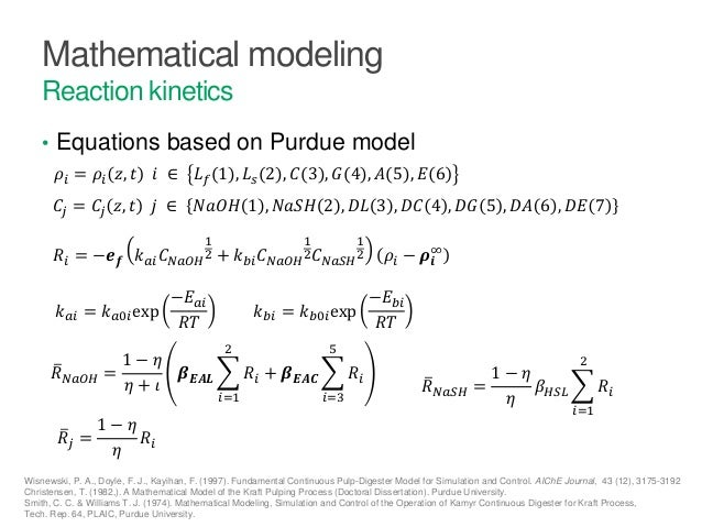 Thesis mathematical modeling