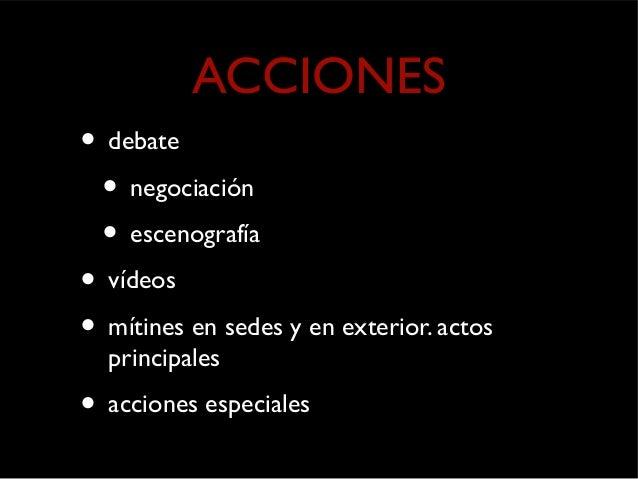 acciones especiales