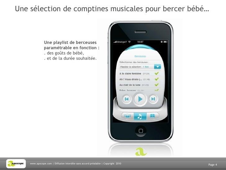 Application Babyphone Iphone