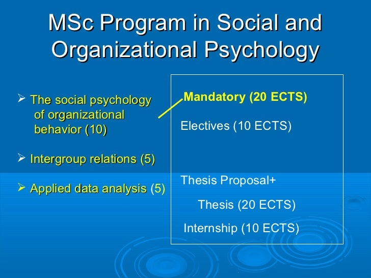 organizational behaviour master thesis Master thesis organizational behavior master thesis organizational behavior this is a dissertation chapter on organizational behavior: the key issues associated with.