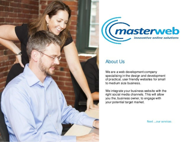 Masterweb Web Design Services Slide 2