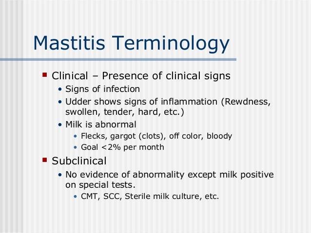 6ac4fd7d7c Mastitis Terminology ...