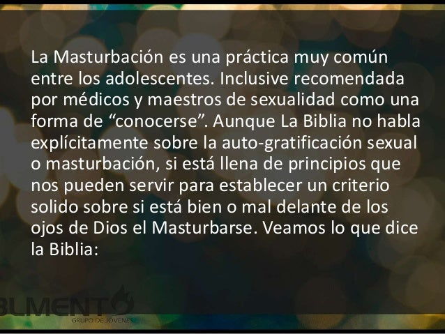 masturbacion y biblia