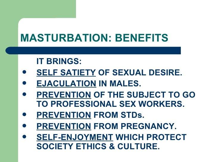 Benefits of masturbation for men