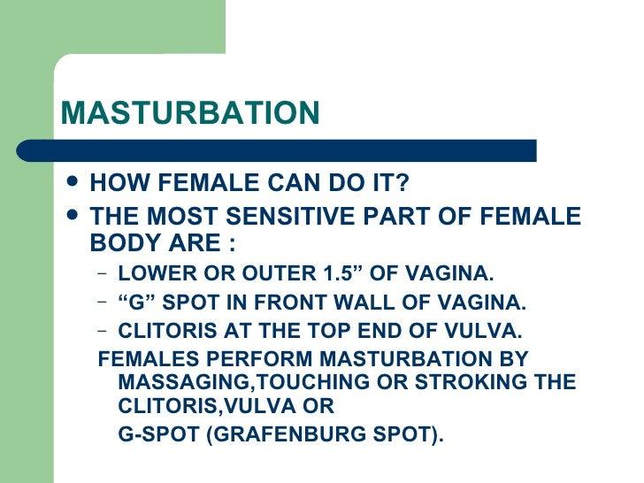 Masturbation how to do it