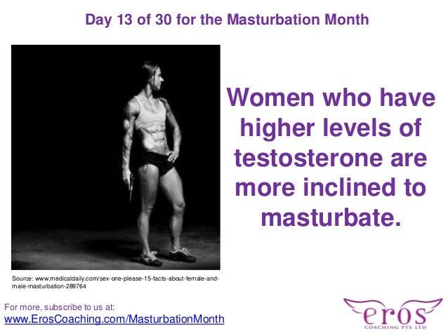 Facts women masturbate