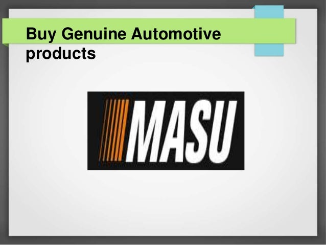 Buy Genuine Automotive products