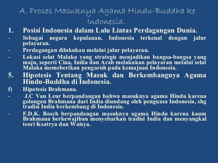 Masuknya Hindu Budha Ke Indonesia