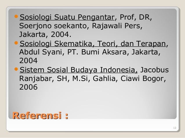 Ebook Sosiologi Suatu Pengantar