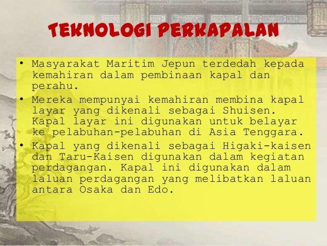 Masyarakat Maritim Di Jepun