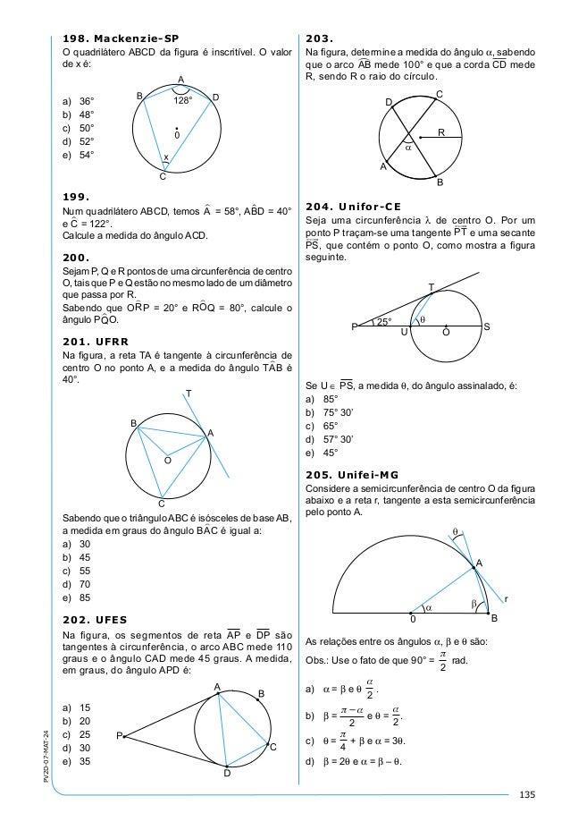 geometria plana exerc cios