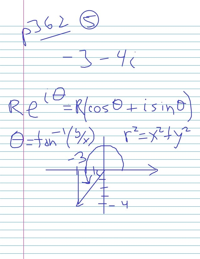 NCC MAT111 2013 SII: Week 4 Day 01 - CIS(theta) and Trig identities!