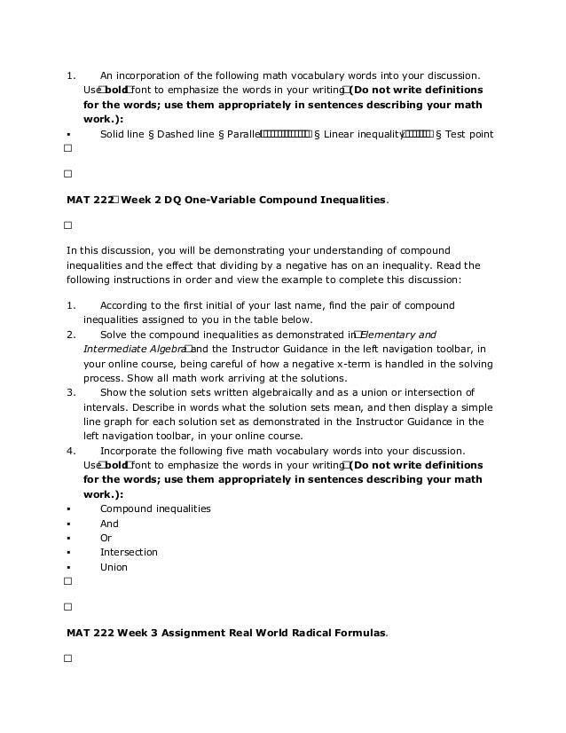MAT 222 MAT/222 MAT222 Quiz 2 (New)