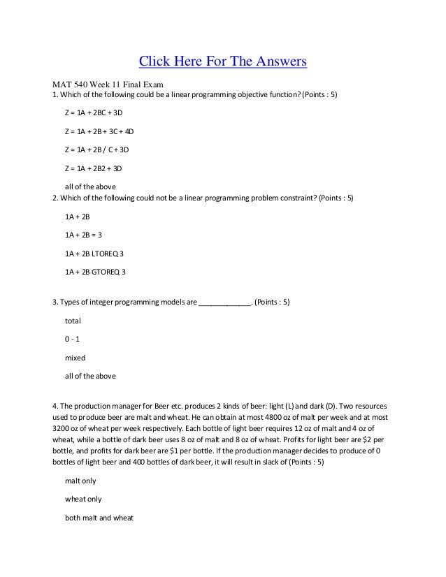 mat 540 final paper Mat 540 week 6 final paper for more classes visit wwwmat540aidcom focus of the final paper in this six- to eight-page research paper, you will explore in detail one of the statistical.
