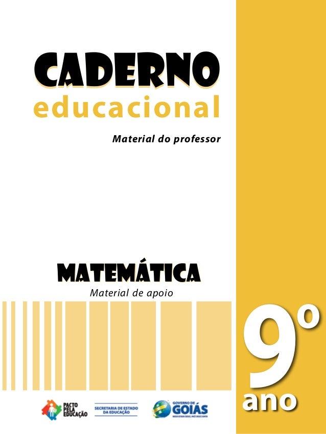 CadernoCaderno Material do professoreducacionaleducacional       Material do professor       Material do professor Ciência...