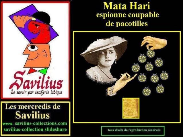 Mata Hari espionne de pacotilles