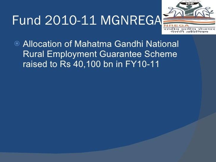 NREGA – National Rural Employment Guarantee Act