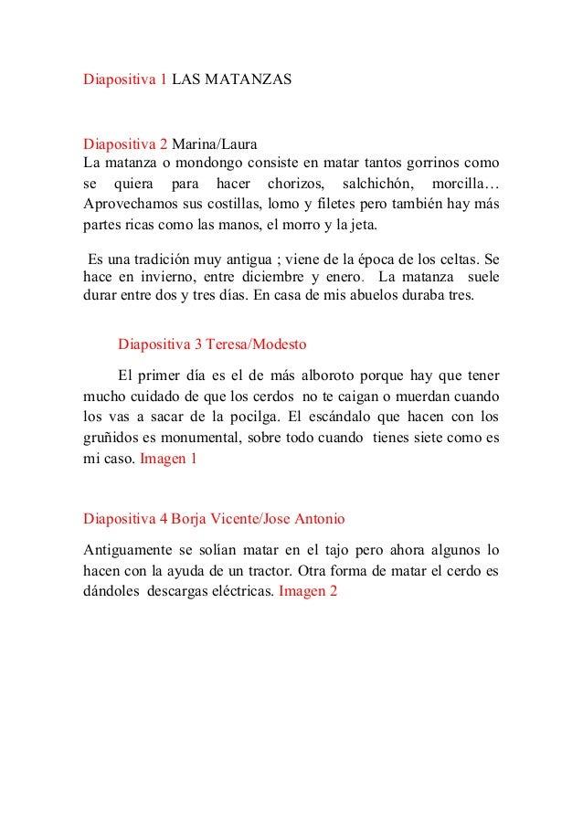 Matanzas Frases