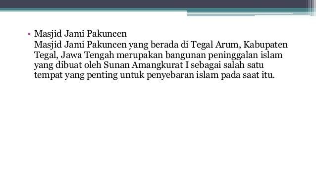 Presentasi Sejarah SMA kelas X Kerajaan Mataram islam