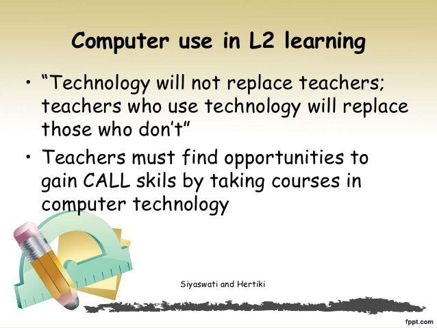 essay on can technology replace teachers This essay will discuss, firstly the limitations of technology in education and  in  conclusion, it is not likely that electronic devices will replace teachers in the.
