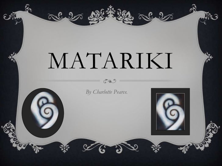 Matariki<br />By Charlotte Pearce.<br />