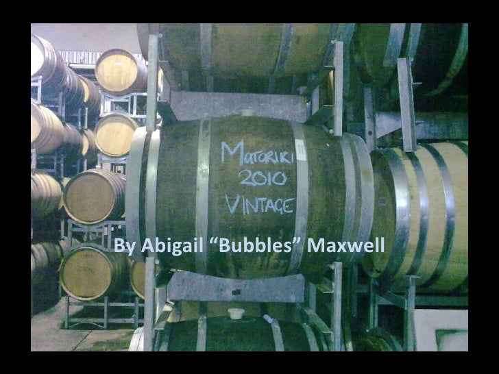 """By Abigail """"Bubbles"""" Maxwell<br />"""